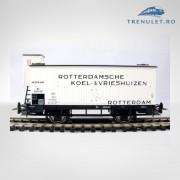 Vagon frigorific pentru bere HO, Piko 95531