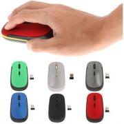 Magideal Ultra-Slim Mini USB 2.4G Wireless Optical Mouse Mice 1600 DPI for PC Silver