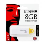 Memória USB Kingston Generation 4 Data Traveler - 8GB