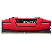 Memoire RAM G.Skill RipJaws 5 Series Rouge 16 Go (2x 8 Go) DDR4 2666 MHz CL15 - Kit Dual Channel 2 barrettes de RAM DDR4 PC4-21300 - F4-2666C15D-16GVR