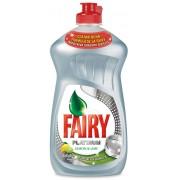 Detergent de vase FAIRY Platinum Lemon&Lime, 480ml