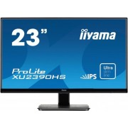 "Monitor IPS LED iiyama 23"" ProLite XU2390HS-B1, Full HD (1920 x 1080), VGA, DVI-D, HDMI, 5ms, Boxe (Negru)"