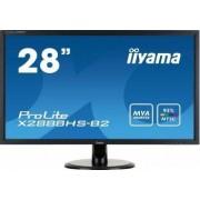 Monitor LED 28 Iiyama Prolite X2888HS-B2 Full HD 5ms Negru