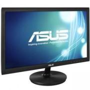 Монитор Asus VS228DE, 21.5 инча WLED TN, Non-Glare, 5ms, 600:1, 50000000 DFC, 200cd, 1920x1080, D-Sub, Tilt, Black, 90LMD8501T02201C