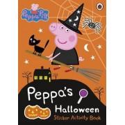 Peppa Pig: Peppa's Halloween Sticker Activity Book by Ladybird Books Ltd