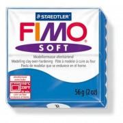Gyurma, 56 g, égethető, FIMO Soft, óceán kék
