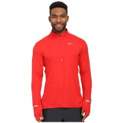 Nike Dry Element Long Sleeve Running Top University RedReflective Silver