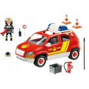 Fire Chief's Car with Lights & Sound by Playmobil