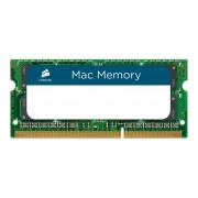 Памет Corsair DDR3, 1066MHz 4GB 1x204 SODIMM, Apple Qualified, Unbuffered