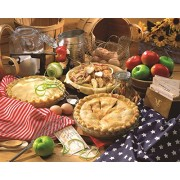 Springbok Puzzles Apple Pie Jigsaw Puzzle (1500 Piece)