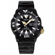 Seiko Watches Automatic Black IP Stainless Steel and Dial Black IP SS - SRP583K1 BlackBlack
