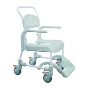 Etac Clean Shower Commode Chair with Adjustable Height