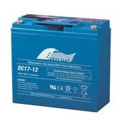 Batería AGM de ciclo profundo fullriver DC17-12 12 voltios 17 amperios 181 x 77 x 167 mm