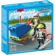PLAYMOBIL - ECHIPA DE SALUBRITATE (PM6113)