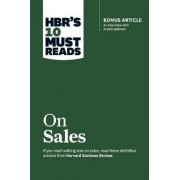 HBR's 10 Must Reads on Sales by Harvard Business Review