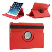 Apple iPad Mini 1, 2 en 3 Swivel Case, 360 graden draaibare Hoes, Cover met Multi-stand - Kleur Rood
