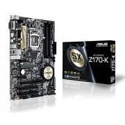 Asus Z170-K Carte Mère Intel Z170 ATX Socket 1151