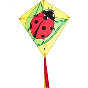 HQ Kites Eddy Ladybug 27 Diamond Kite