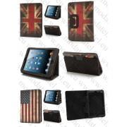 "Аpple iPad Mini/Mini2/Mini3/VONINO SIRIUS QS 7,9'' кожен калъф ""BUSINESS Flag Style"""