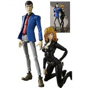 S.H. Figuarts Lupin & Fujiko Mine ABS & PVC painted action figure set