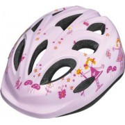 Abus Smiley Pink Princess cykelhjälm