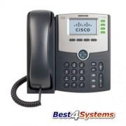 Cisco Systems SB 4 Line teléfono IP pantalla, PoE y PC a través del puerto, SPA504G (pantalla, PoE y PC puerto pequeé±a empresa IP Teléfono) (Reacondicionado Certificado)