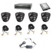 IP-S4045-HDD -Система от 4 камери - 700 ТВ линии, 960H и DVR рекордер 960H - за офис, магазин, склад, къща и вила