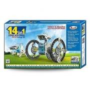 Peacock 14 in 1 Educational Solar Energy Kit Toys
