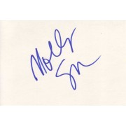 Molly Shannon Autographed Index Card