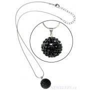 Náhrdelník LS Fashion LSN002 černý