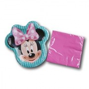 Disney Minnie Mouse Party Birthday Bundle - Plates and Napkins