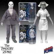 The Twilight Zone Alien and Nurse Action Figures