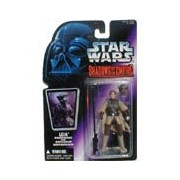 Star Wars Action Figur 69602 - Leia in Boushh Disguise mit Blaster Rifle und Bounty Hunter Helmet (Shadows of the Empire)