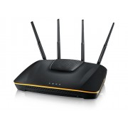 ZyXEL NBG6816 ARMOR Z1 Simultaneous Dual-Band Wireless AC2350 Media Router, 802.11ac (600Mbps/2.4GHz+1733Mbps/5GHz), back compatibility with 802.11b/g/n/a, 4xGiga LAN, 1xGiga WAN, 2xUSB 3.0, SPI fire