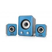 Sistem audio 2.1 Logic LS-20 Blue