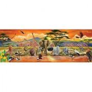 Melissa & Doug African Plains Safari Jumbo Jigsaw Floor Puzzle (100 pcs over 4 feet long)