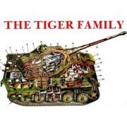 The Tiger Family of Tanks by Horst Scheibert