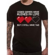 Tricou - Video Games Have Ruined My Life