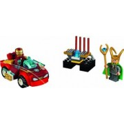 Set Constructie Lego Juniors Iron Man Contra Loki