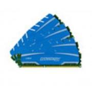 Crucial Ballistix Sport XT 16 Go (4 x 4 Go) DDR3 1600 MHz CL9, Kit Quad Channel DDR3 PC12800 BLS4C4G3D169DS3BEU
