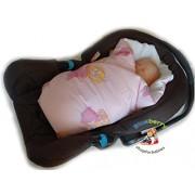 Newborn Swaddle Wrap Blanket For Car Seat Duvet Sleeping Bag Birthday Gift
