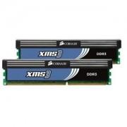 Memorie Corsair 4GB (2x2GB) DDR3, 1600MHz, CL9, Dual Channel Kit, CMX4GX3M2B1600C9