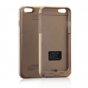 4800mAh Power Bank Battery Case for iPhone 6/6S Plus - Gold