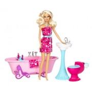 Mattel Y2856 Barbie - Bambola con bagno