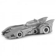 Bricolaje rompecabezas 3D montado murcielago modelo de rompecabezas de juguete - plata