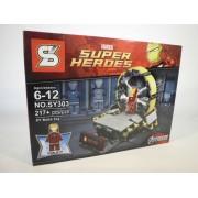Avengers Famous Super Heroes, 217 bouwstenen identiek aan Lego