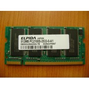 MEMORIE LAPTOP Elpida Pc2100S-2533-0-A1 512mb DDR1