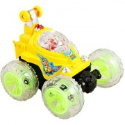 Sponge Bob Stunt Racer Remote Musical Flashing Lights Radio Control Car RC 360 Rotating