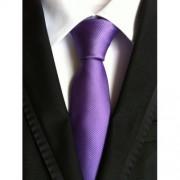 Lila, csíkos nyakkendő