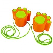 Hape - Sand and Sun - Cat Walk Stilts Beach Toy Orange